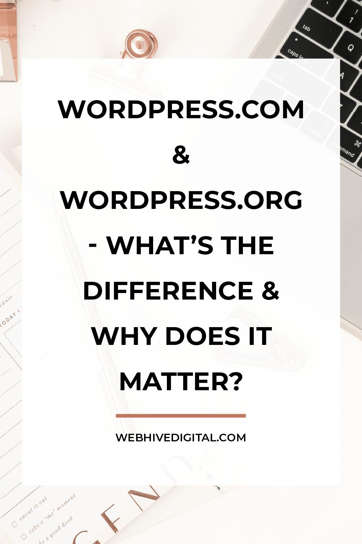 WordPress.com vs WordPress.org: What's the difference?WordPress.com vs WordPress.org: What's the difference