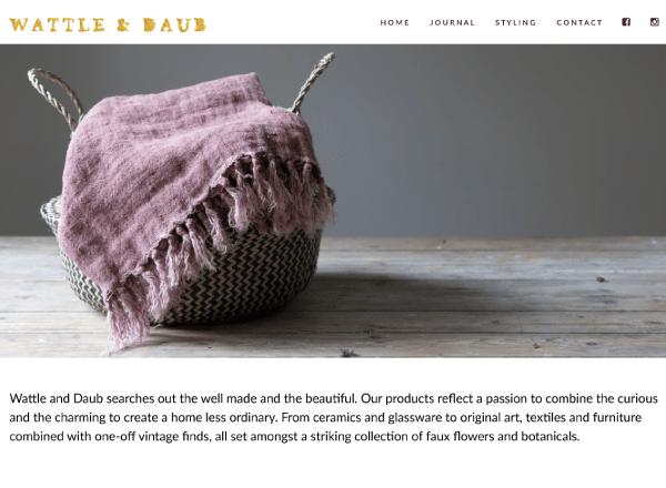 E-Commerce Website Design, Pretty Shop Web Design, Branding Design in Colchester