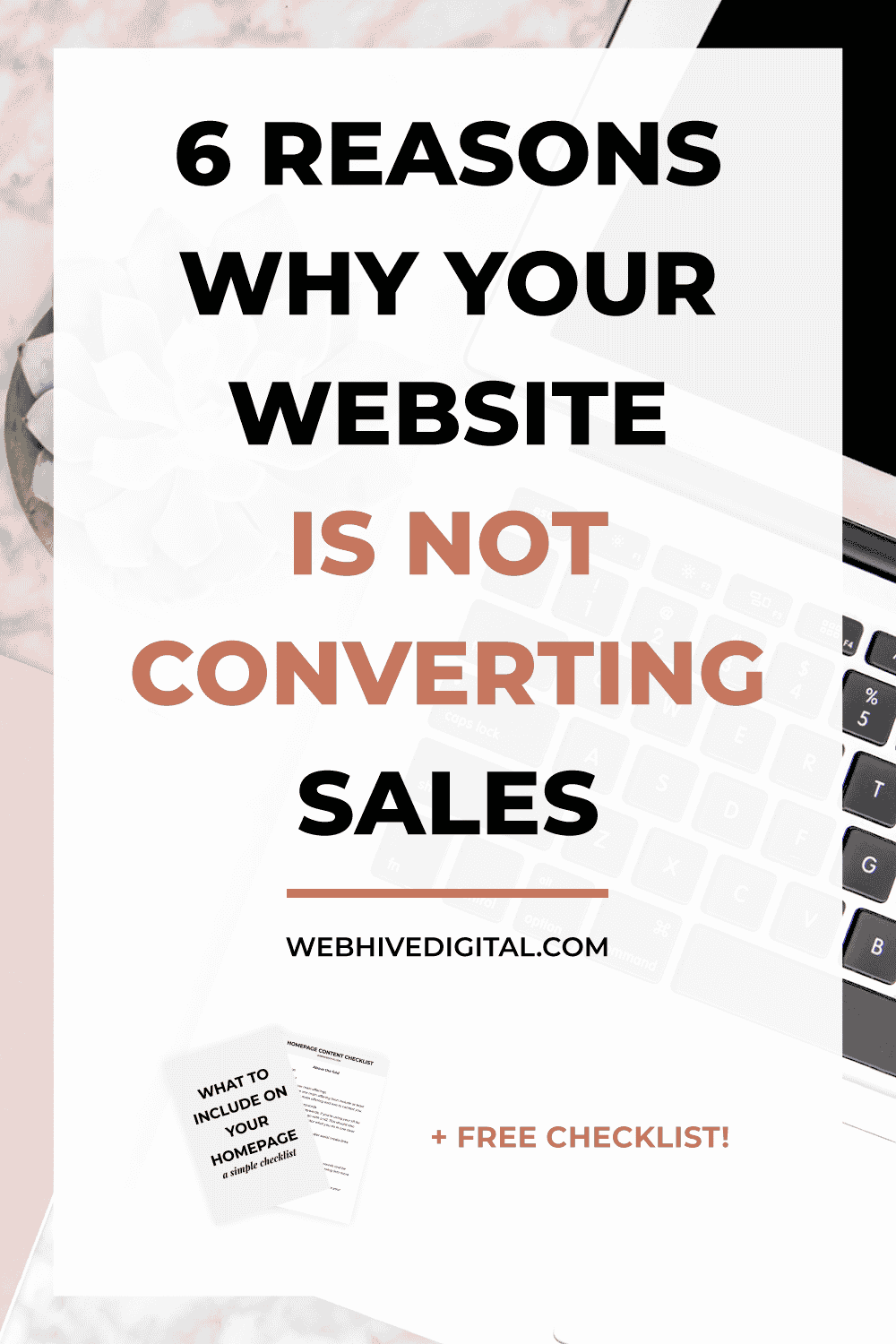 6 Reasons Why Your Business Is Not Converting Sales
