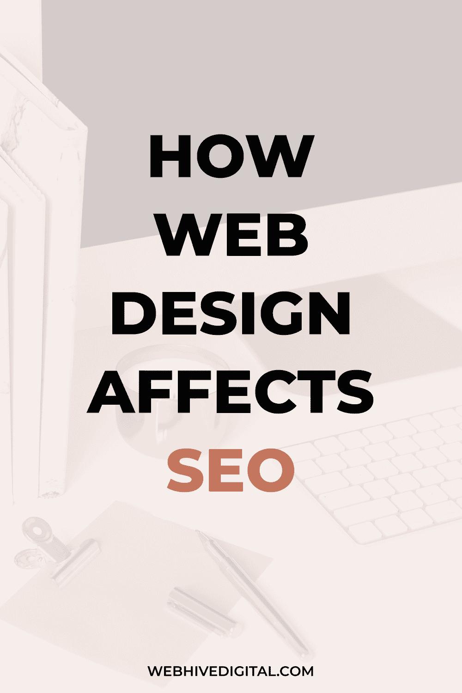 How Web Design Affects SEO | Webhive Digital
