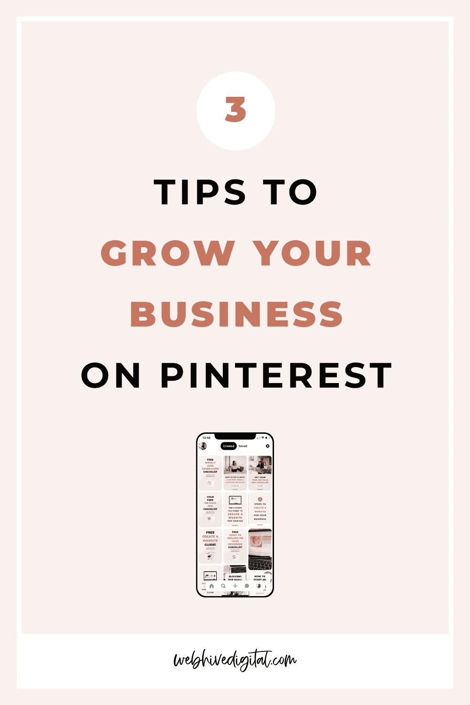 3 Tips for Maximise Pinterest for Business